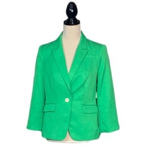 The Limited Collection Green Blazer Sz S CLASSY